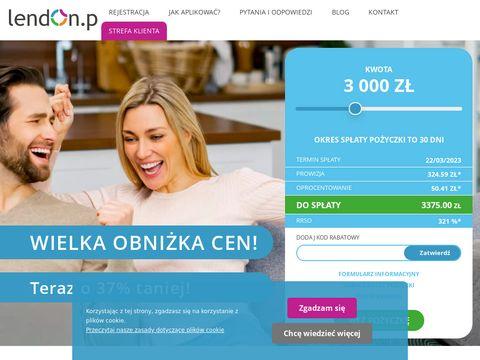 Lendon.pl pożyczki