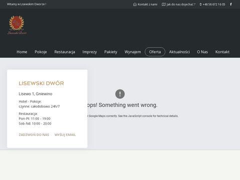 Lisewskidwor.pl restauracja Gniewino
