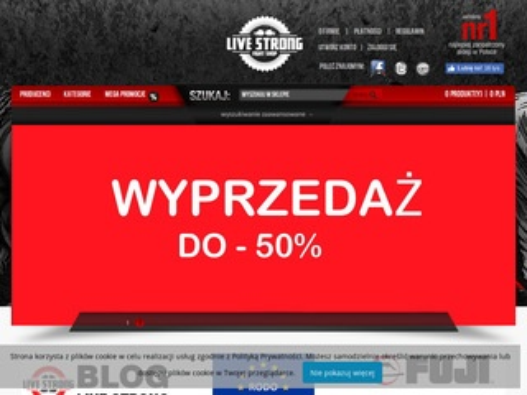 Live-strong.pl największy w Polsce sklep MMA