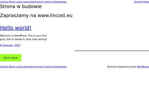 Lincost.pl biuro rachunkowe Bydgoszcz