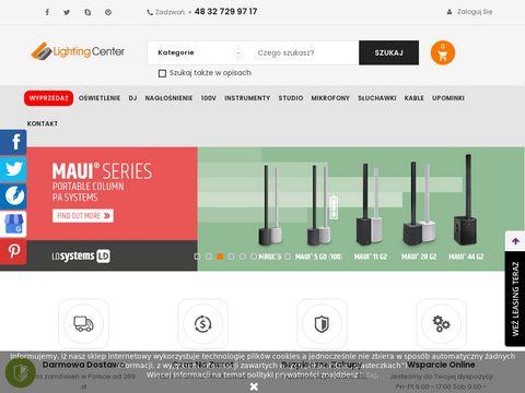 Lightingcenter.pl akcesoria audio