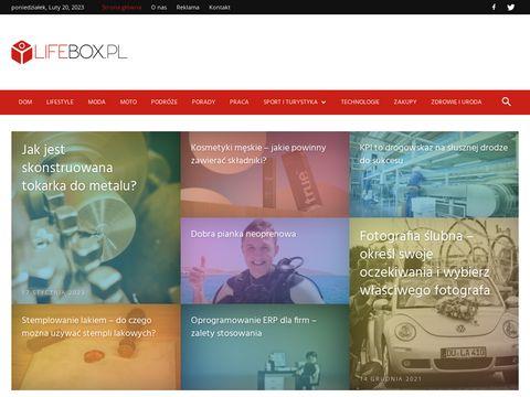 Lifebox.pl - serwis dla ludzi aktywnych