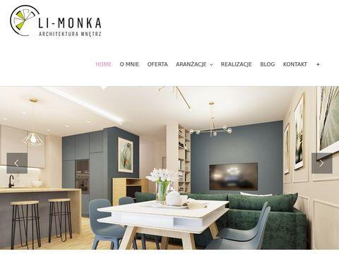 Li-monka.pl nowoczesne wnętrza Kraków