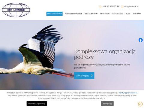 CST Lotnicze wyjazdy służbowe organizacja Kraków