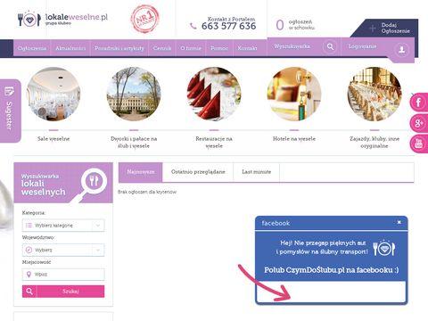 Lokaleweselne.pl - domy weselne
