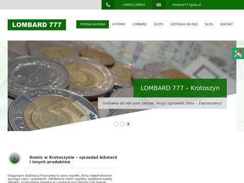 Lombard777.pl komis