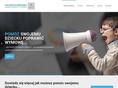 Logopedia.tx.pl gabinet dysleksji Gdańsk