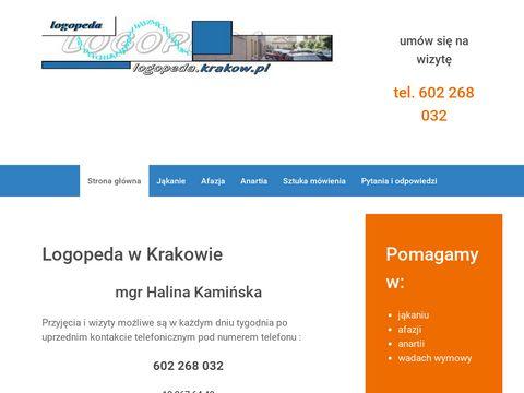 Porady logopedyczne w Krakowie