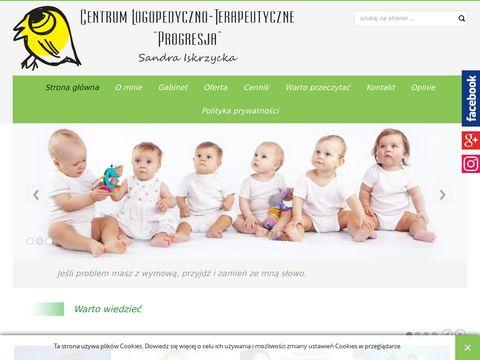 Sandra Dobrowolska logopeda - leczenie wad wymowy