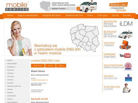 Lodz.mobileenglish.pl