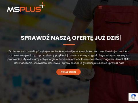 MS Plus Buty robocze