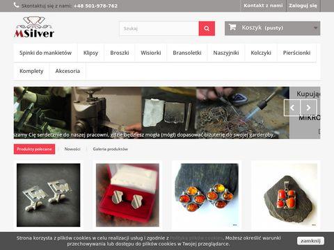 MSilver - sklep z biżuterią artystyczną