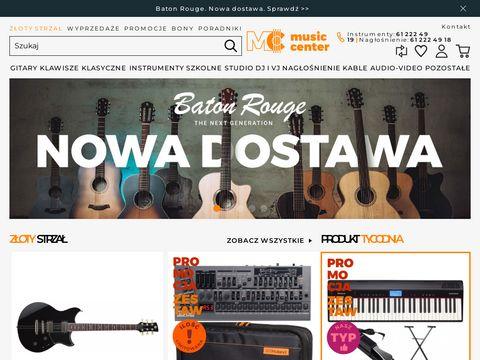 Musiccenter.com.pl - instrumenty muzyczne