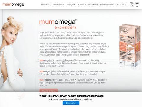 Mumomega.pl kwasy omega-3 i omega-6 ciąża