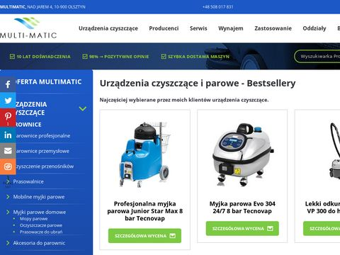 Multimatic - urządzenia czyszczące