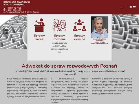 Mzawiejska-adwokat.pl odzyskiwanie długów Poznań