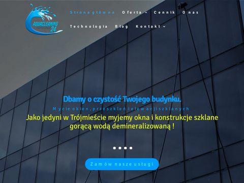 Myjemyszyby.pl czyszczenei okien przeszkleń fasad