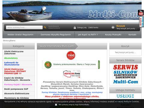 Mc-sklep.pl - silniki do pontonów
