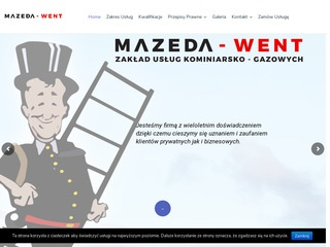 Mazeda-Went kominiarz Gdańsk