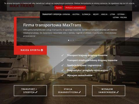 F.T.U.H. MaxTrans - transport Słowacja