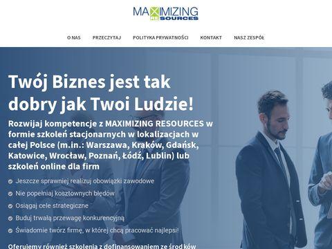 Maxres.pl kursy sprzedażowe