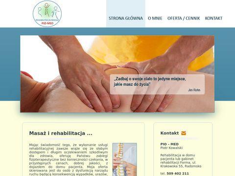 Pio-Med - Rehabilitacja i masaż Radomsko