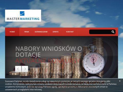 Master-marketing.pl Dotacje i kredyty