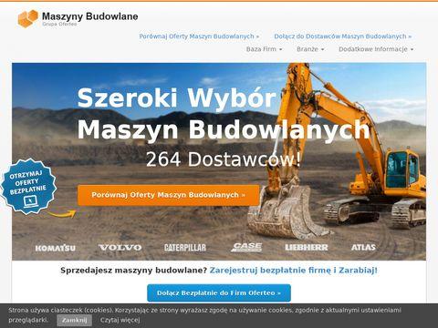 Maszyny Budowlane - maszynybudowlane24h.pl