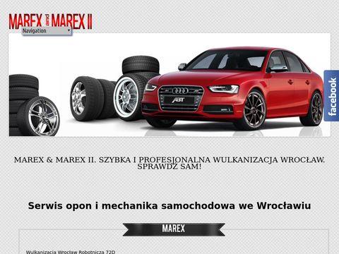 Marex II opony - wymiana oleju