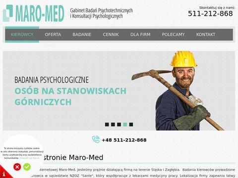 Maro-Med badania psychotechniczne kierowców
