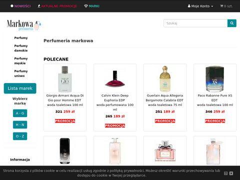 Markowaperfumeria.pl perfumerie internetowe