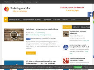 Marketingowa Moc - blog o praktycznym marketingu