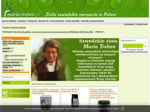 Zioła Szwedzkie wg. receptury Marii Treben