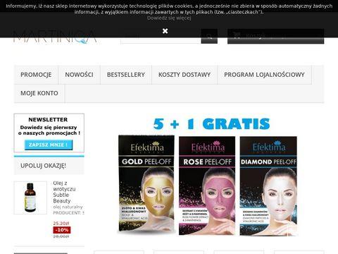 Martiniqa - kosmetyki i inne pachnące drobiazgi