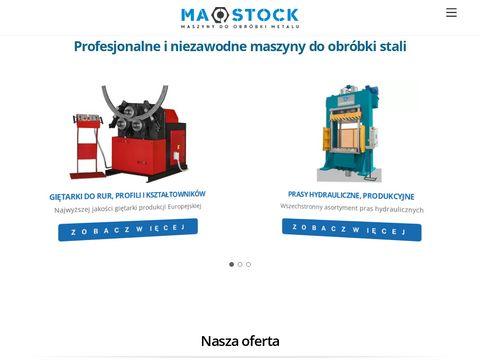 Prasy Hydrauliczne i maszyny do obróbki metalu
