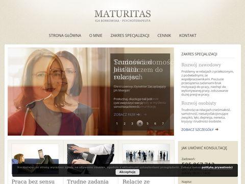 Maturitas psychoterapia Warszawa