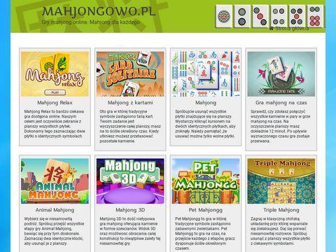 Mahjongowo.pl - gry Mahjong