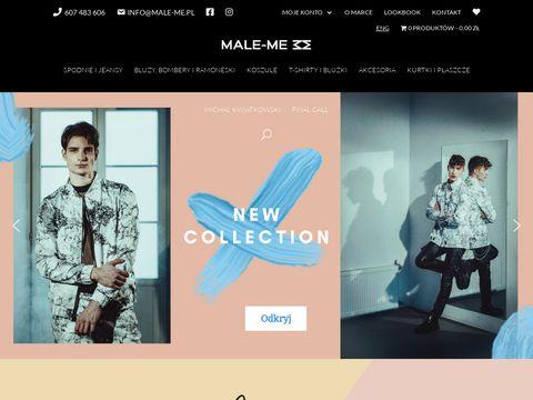 Male-Me - polska moda autorska dla mężczyzn