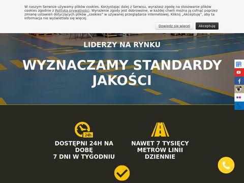Malowaniepasow.pl oznakowanie poziome