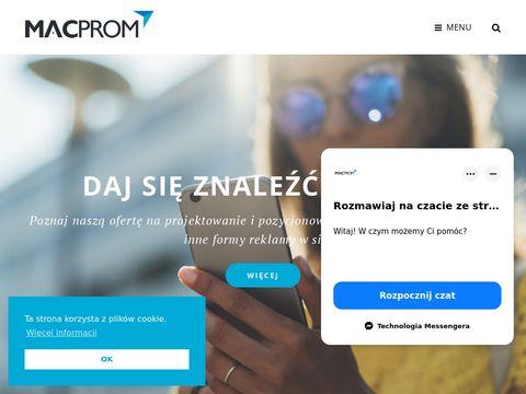 Macprom - strony internetowe