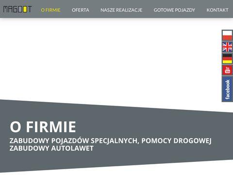 Magoot.pl zabudowy pojazdów specjalnych
