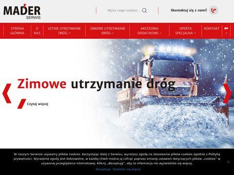Mader-serwis.pl noże bijakowe