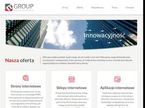 Mgroup.pl strony internetowe Łódź