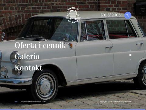 Mercedesy-do-slubu.pl auto do ślubu