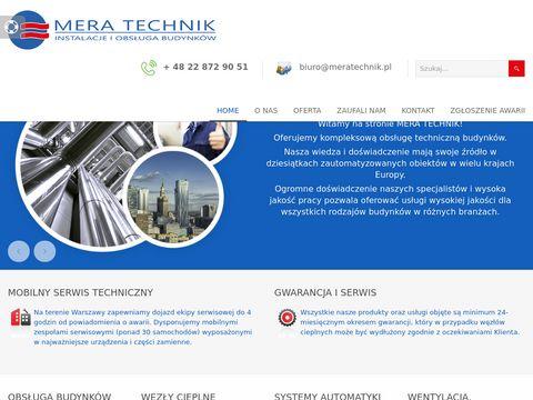 Mera Technik obsługa techniczna budynków