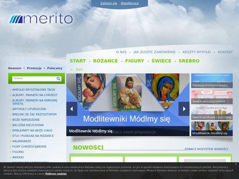 Meritohurt.pl sklep z dewocjonaliami