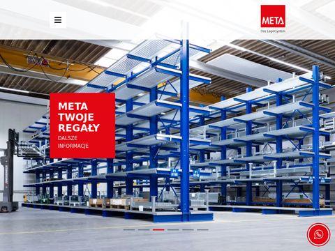 META Regał metalowy cena
