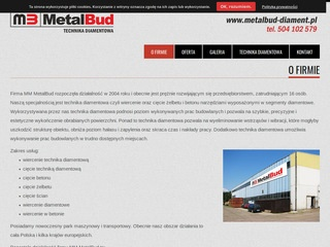 Technika diamentowa - MM MetalBud