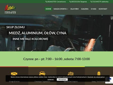 Metalic.pl skup złomu Krościenko