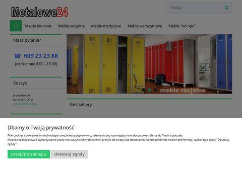 Metalowe24.pl szafy